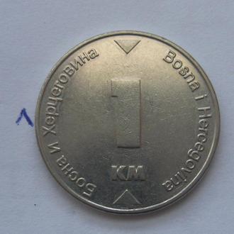 БОСНИЯ и ГЕРЦЕГОВИНА, 1 марка 2006 года.