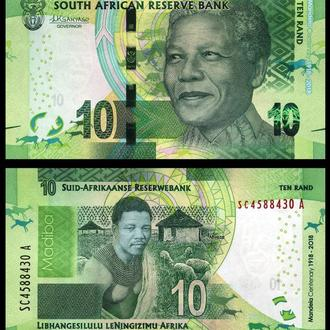 South Africa / Южная Африка - 10 Rands 2018 - UNC