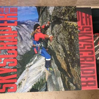 David Lee Roth ‎(  Van Halen ) + Steve Vai =  Skyscraper   (USA)   LP
