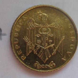 50 бани 2005 г. МОЛДОВА.