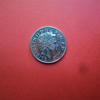 Великобритания 2013г. 10 пенсов.