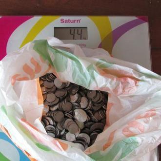 Монеты Украины 1-2 копейки. 4.400кг С 1гр! Всего 3 дня!