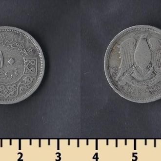 СИРИЯ 10 ПИАСТРОВ 1948