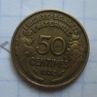 Франция, 50 сантимов 1932 г.