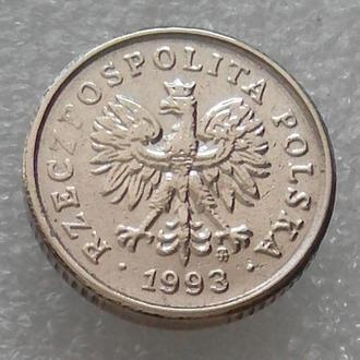 Польша 10 грош 1993 года