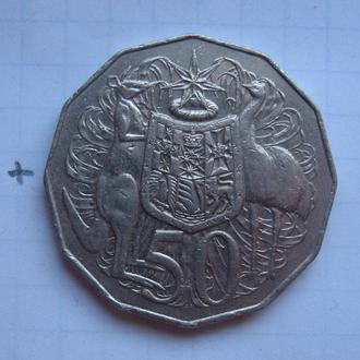 АВСТРАЛИЯ 50 центов 1984 года.
