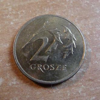 Польша 2 гроша 2008