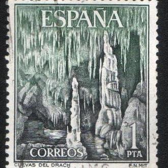 Испания (1964) Туризм. Драконьи пещеры на Майорке