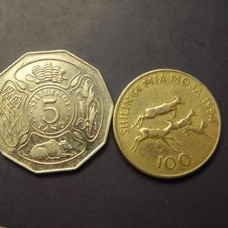 Монети Танзанії
