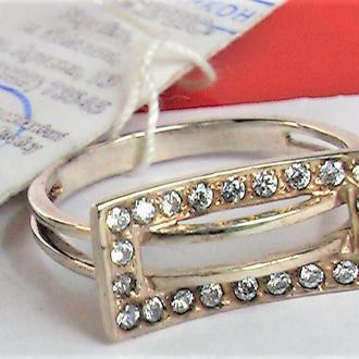 Кольцо перстень новый серебро 925 проба размер 17,5 вес 2,29 гр.