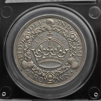 1 Крона 1929 Пшеничная,(430) Великобритания