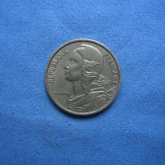 Франция 5 сантимов 1971 год
