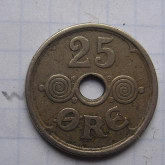 НОРВЕГИЯ 25 эре 1924 года.