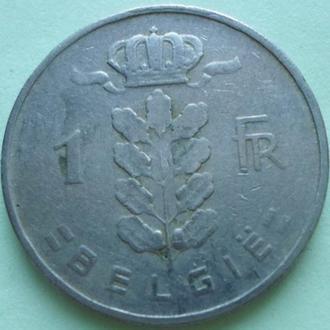 (А) Бельгия 1 франк, 1956 'BELGIE'