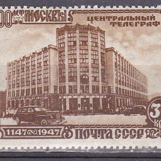 СССР 1947 800 лет Москве MH
