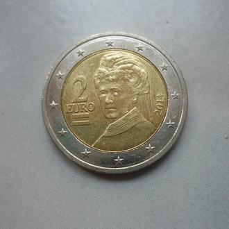 Австрия 2 евро 2014