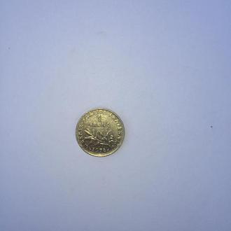 1 один франк 1978.Франция