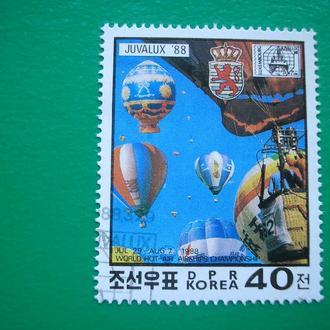 Корея 1988  Дирижабли   200 лет авиации  *  полн. сер.