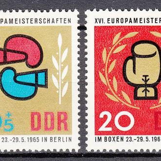 ГДР 1965 спорт