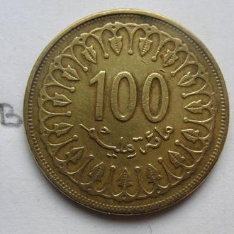 ТУНИС 100 миллим 1997 г.