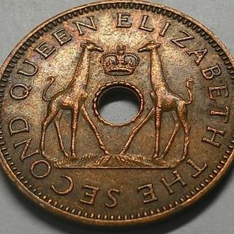 Родезия и Ньясаленд 1/2 пенни 1964 года СОСТОЯНИЕ!!!