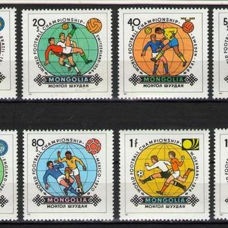 Монголия 1982 Футбол История Чемпионвтов мира серия MNh **