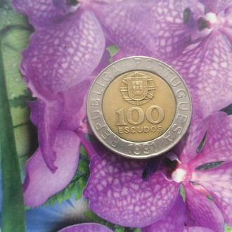 Португалия 100эскудов 1991г