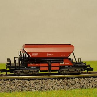 (0821) саморазгружающийся вагон Fleischmann в масштабе N (1:160)
