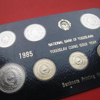 Набор от 1 до 100 Динара 1985,(10) Югославия