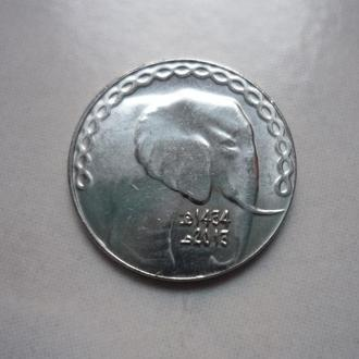 Алжир 5 динаров 2015 фауна