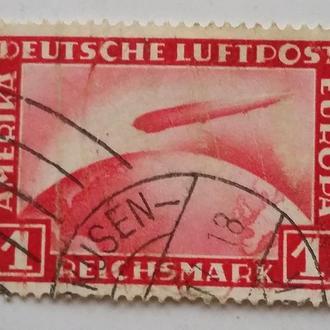 Германия 1931 г ЦЕППЕЛИН № 455