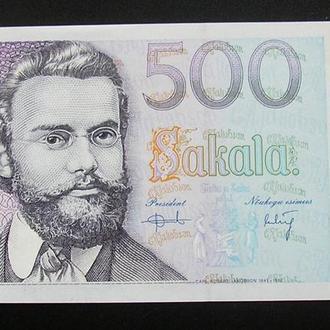 Estonia Эстония 500 крон 2000 UNC