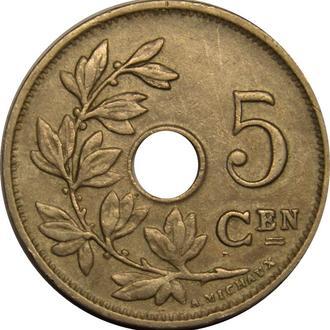 Бельгія 5 centimes 1922