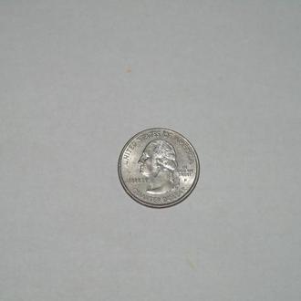 четверть доллара Америка Аляска1959  (год выпуска 2008)