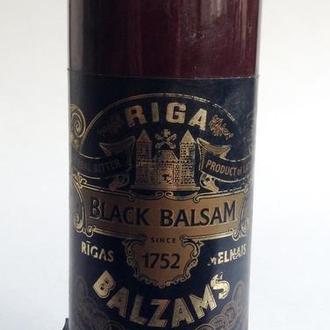 Бутылка коллекционная Рижский чёрный бальзам. Керамика.