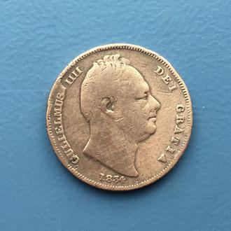 1 фартинг - 1834 год