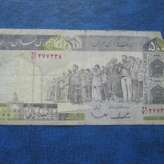 банкнота 500 риалов Иран 1982-2002