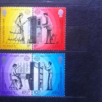 Джерсей 1979 история почты **