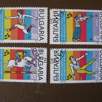 Болгария Спорт 1989 год