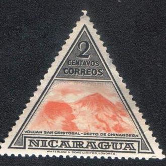 Никарагуа (1947) Вулкан Сан-Кристобаль