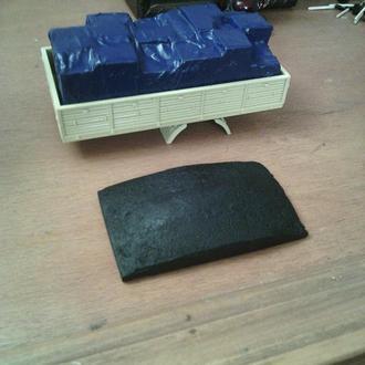 ГРУЗ коробки под тентом в кузова любых моделей масштаба 1:43 по вашим размерам