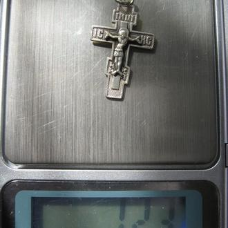 Крест - серебро 925, 1,23г