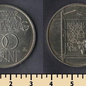 ВЕНГРИЯ 100 ФОРИНТОВ 1985