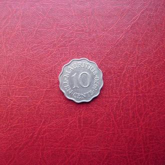 Маврикий 10 центов 1970