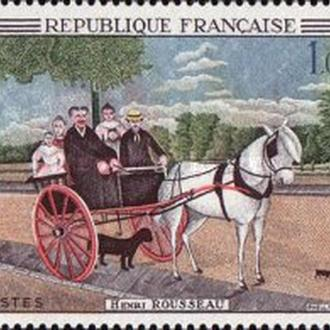 Франция 1967 живопись