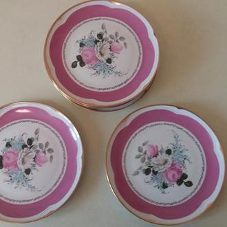 набор из 6 тарелок (Производство ГДР)