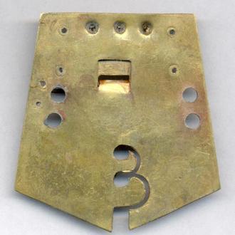 Колодка на медаль царскую патент Черных