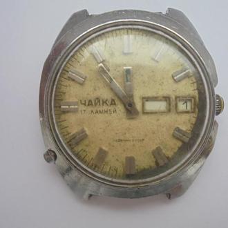 Наручные часы Чайка механические, (№55).