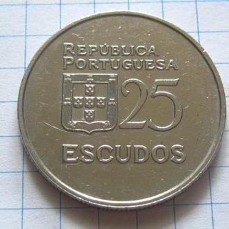 Португалия_ 25 эскудо 1986 года  оригинал