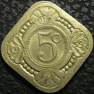 Нидерланды 5 центов 1939 год СОСТОЯНИЕ!!!